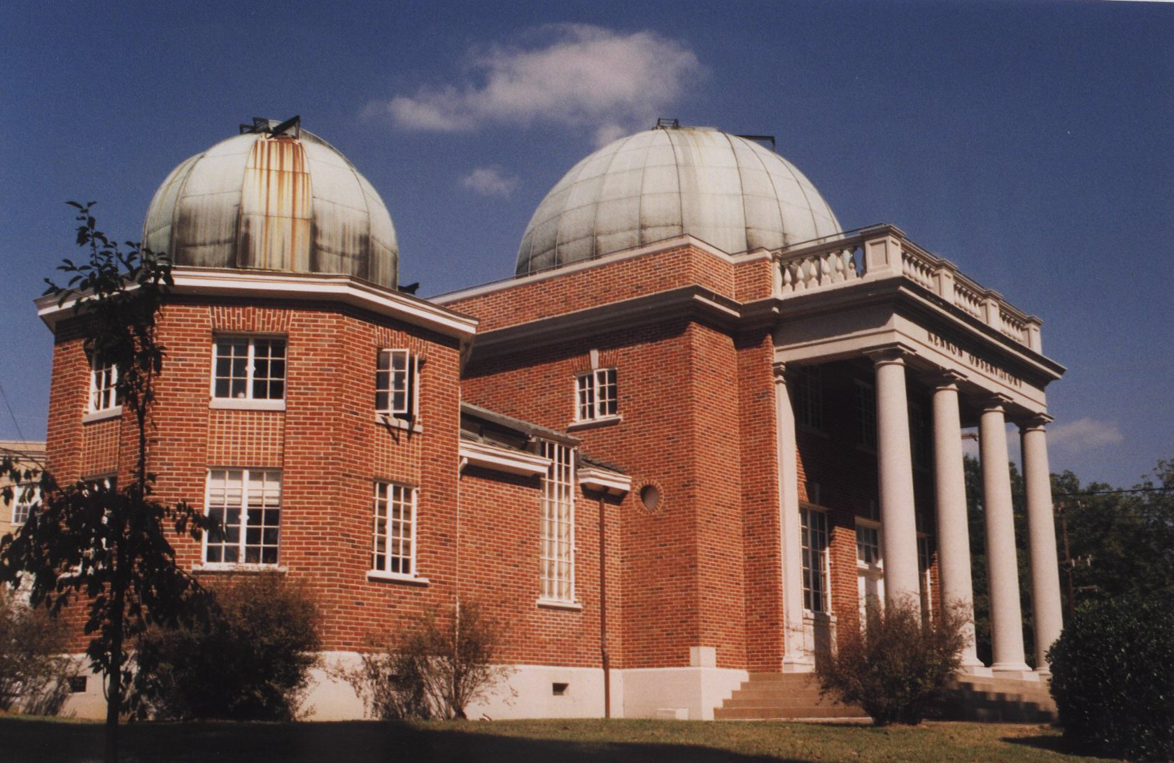 Kennon Observatory from the southwest