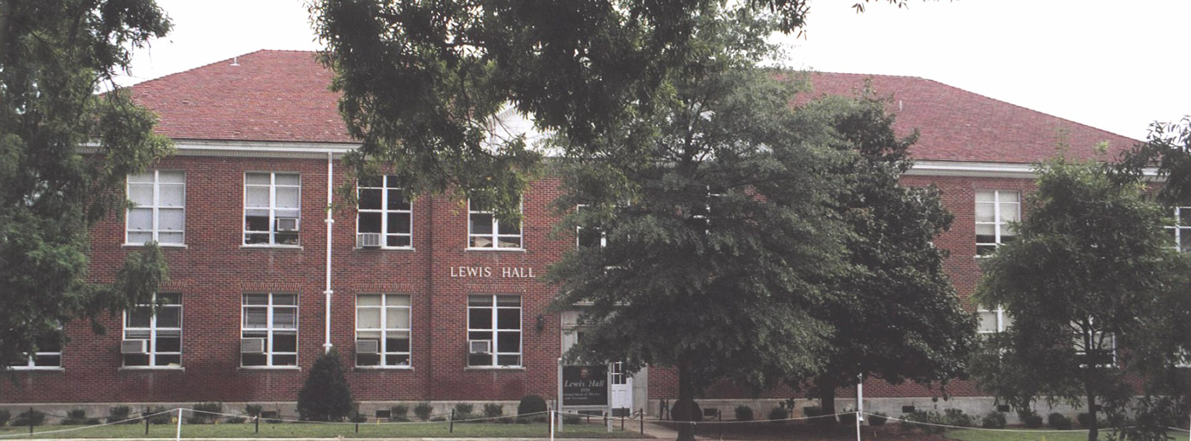 Lewis Hall, north side