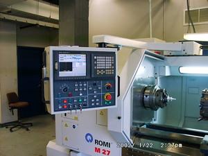 Romi CNC lathe