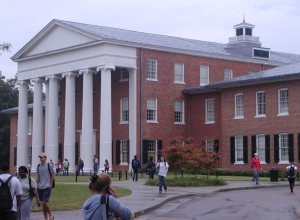 The University of Mississippi Lyceum building.
