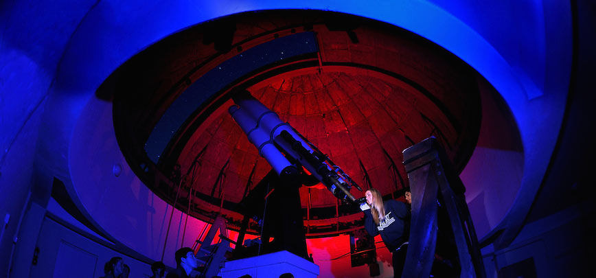 A View Through a Historic Telescope